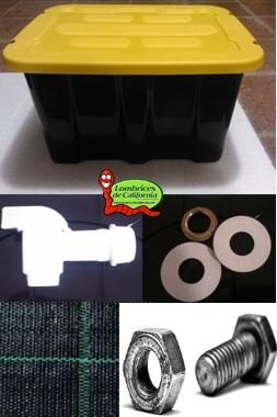 kit vermicompostador